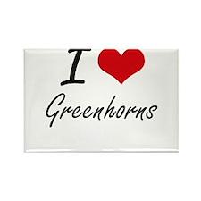 I love Greenhorns Magnets