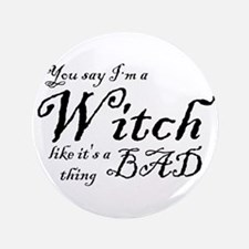 You say I'm a Witch like it's a bad thing - Hallow