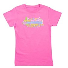 Unique Swimming girl Girl's Tee