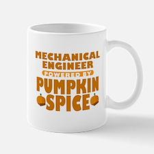 Mechanical Engineer Powered by Pumpkin Spice Mug