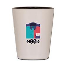 Geek Noob Shot Glass