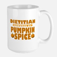 Dietitian Powered by Pumpkin Spice Mug