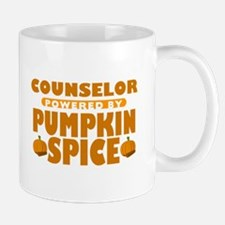 Counselor Powered by Pumpkin Spice Mug