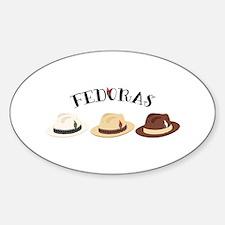 Fedora Hats Decal