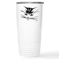 Cat Face Travel Mug