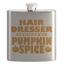 Hair Dresser Powered by Pumpkin Spice Flask