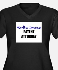 Worlds Greatest PATENT ATTORNEY Women's Plus Size
