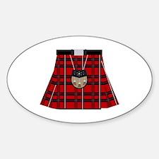 Scottish Kilt Decal