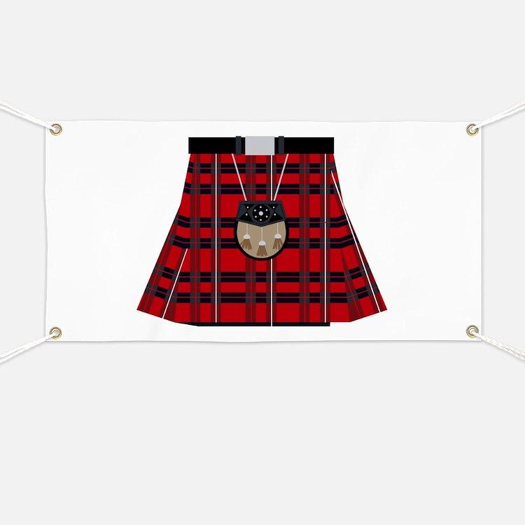 Scottish Kilt Banner
