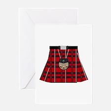 Scottish Kilt Greeting Cards