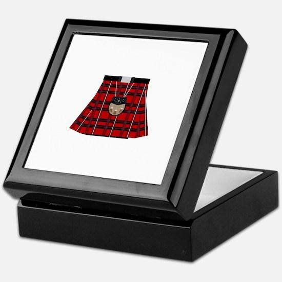 Scottish Kilt Keepsake Box