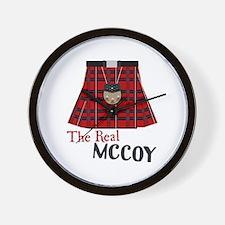 The Real McCoy Wall Clock