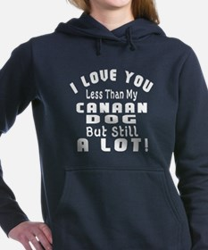 Canaan Dog dog designs Women's Hooded Sweatshirt