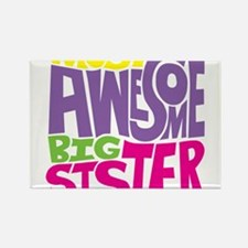 Cute Big sister Rectangle Magnet