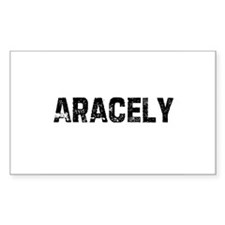 Aracely Rectangle Decal