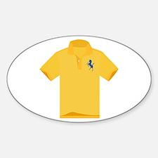 Polo Shirt Decal