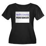 Worlds Greatest PARK RANGER Women's Plus Size Scoo