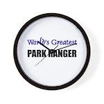 Worlds Greatest PARK RANGER Wall Clock