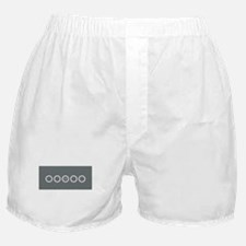 Chic Grey Divine Boxer Shorts