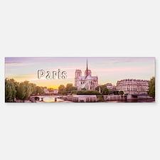 Paris Bumper Bumper Sticker