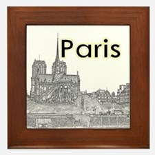 Paris Framed Tile