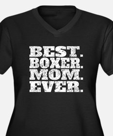 Best Boxer Mom Ever Plus Size T-Shirt