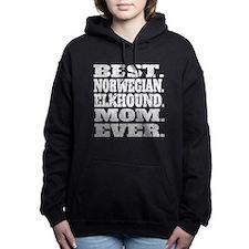 Best Norwegian Elkhound Mom Ever Women's Hooded Sw