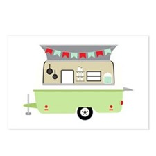 Camper Trailer Postcards (Package of 8)