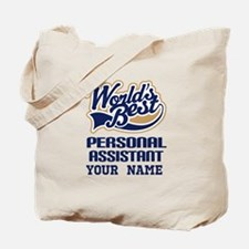 Personal Assistant Personalized Tote Bag