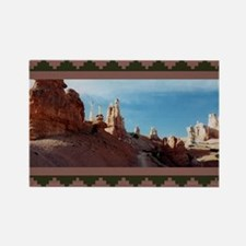 BRYCE CANYON SPIRES Rectangle Magnet