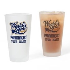 Pharmacist Personalized Drinking Glass