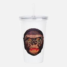 Retro Gorilla Acrylic Double-wall Tumbler