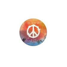 Peace Sign Mini Button (10 pack)