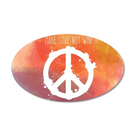 peace sign wall sticker by wickeddesigns4 peace sign teal wall decal