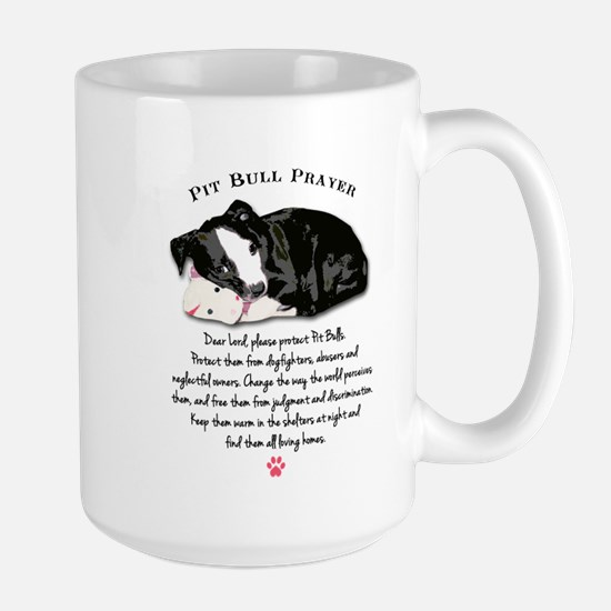 Pit Bull Prayer Mugs