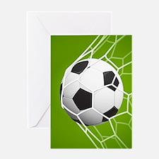Football Goal Greeting Cards