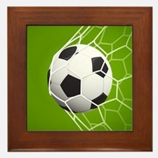Football Goal Framed Tile