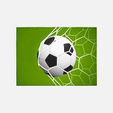 Football Goal 5'x7'Area Rug