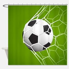 Football Goal Shower Curtain