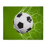 Soccer Fleece Blankets