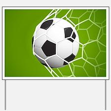 Football Goal Yard Sign