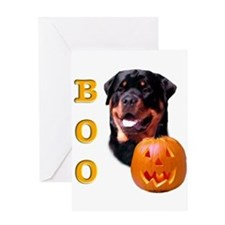 Unique Rotties Greeting Card