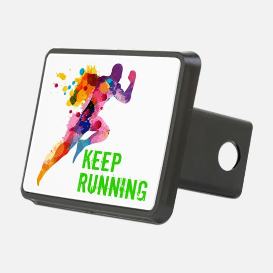 Keep Running Hitch Cover