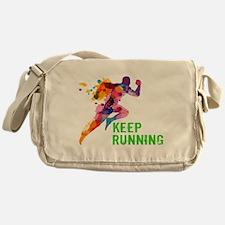 Keep Running Messenger Bag