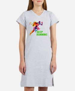 Keep Running Women's Nightshirt