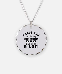 Great Pyrenees dog designs Necklace