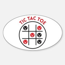 Tic Tac Toe Decal