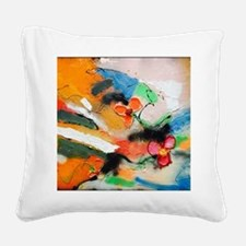 Ina D Abel Square Canvas Pillow