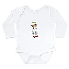 Funny Jack russel terriers Long Sleeve Infant Bodysuit