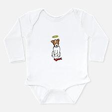 Russell terrier Long Sleeve Infant Bodysuit